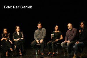 Publikumsgespräch mit José Valencia, Belén Maya, Rafael Rodriguez. Berlin, Dezember, 2014