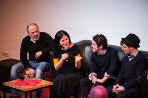 Publikumsgespräch mit Rafael Rodriguez, Alberto Selles, David Palomar. Flamencofestival Tanzhaus NRW, Düsseldorf. April 2015