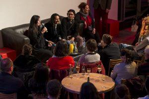 Publikumsgespräch mit Farruquito, Polito, Mari Vizarraga. Tanzhaus NRW, Düsseldorf. April 2016