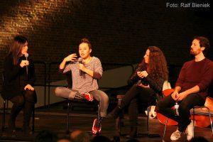 Foto Publikumsgespraech Susanne Zellinger mit Rocio Molina