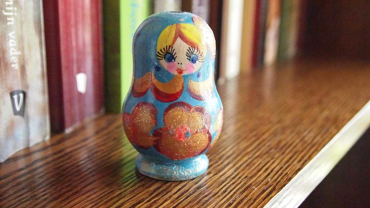 Bild von russischer Puppe von Pixabay