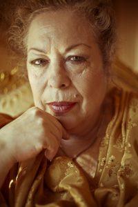 Foto der Flamencotaenzerin La Chana _ Foto von Samuel Navarrete