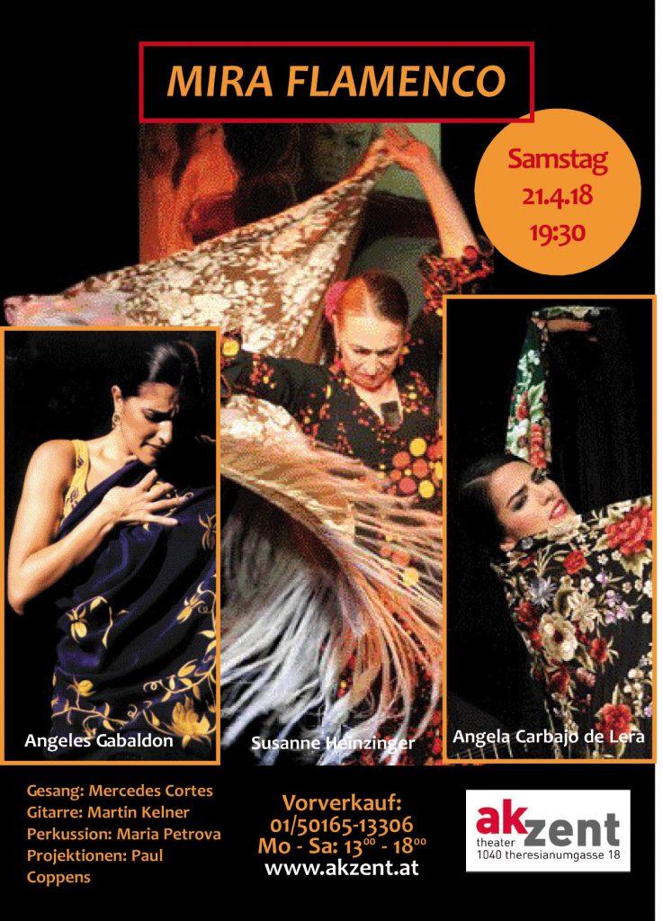 Plakat der Veranstaltung Mira Flamenco
