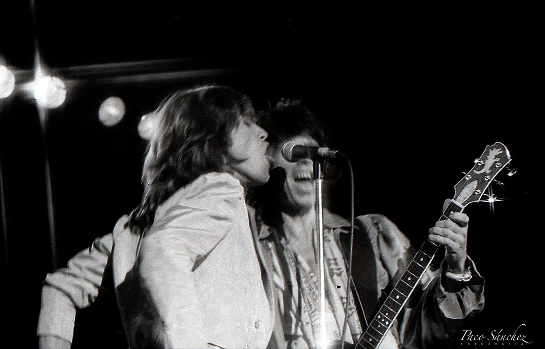 Rolling Stones por Paco Sánchez