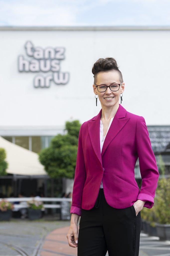 Ingrida Gerbutavičiūtė, Intendantin am tanzhaus nrw ab der Spielzeit 2022-23 (c) tanzhaus nrw, Foto Katja Illner